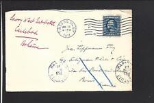 TIMES SQ.STA. NEW YORK,1911,TRANSATLANTIC COVER TO PARIS,FRANCE.