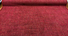 P Kaufmann Sashe Raspberry Soft Chenille Upholstery Fabric by the yard