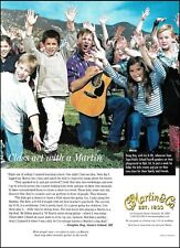 Doug Day plays the Martin D-28 acoustic guitar 2001 ad 8 x 11 advertisement