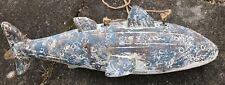 More details for fabulous unusual large fibreglass whale shark excellent decorative item