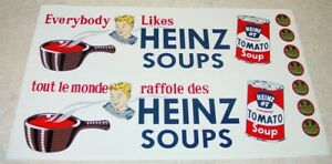 Otaco Minnitoys Heinz Soups Semi Sticker Set       MN-004