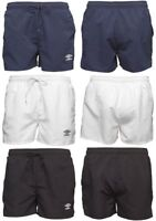 Umbro Mens Essential Swim Shorts, Sports, Swim, Football, Gym, Swimming, Beach
