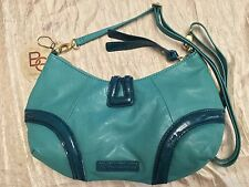 BCBG BCBGENERATION Green Hobo Shopper Bag Purse Handle Style Authentic