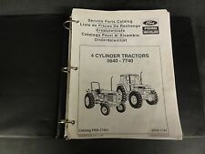 Ford 4-Cylinder Tractors 5640-7740 Service Parts Catalog   FNH-17451    1991