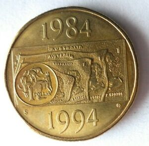 1994 AUSTRALIA DOLLAR - AU/UNC - Great Uncommon Coin - Lot #A10