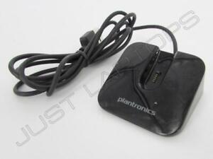 Genuine Plantronics USB Charger Stand Cradle Dock For Voyager Legend Headset