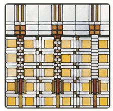Frank Lloyd Wright Dana Thomas House I Absorbent Stoneware Coasters Set/4
