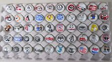 50 Advertising & Cartoon Logo 1 Inch Marbles Great For Collecting / Resale lot A
