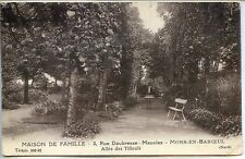 CP 59 Nord - Mons-en-Baroeuil - Maison de famille - Allée des Tilleuls