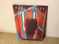 Paul Weller Sonik Kicks Roundhouse London Concert Flyer March 2012 The Jam