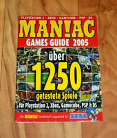 Maniac Magazin Beilage Heft Games Guide 2005 Blinx 2 Ratchet & Clank 3 Jak 3 PS2
