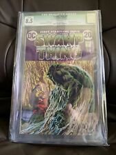 SWAMP THING 1 CGC 8.5 Qualified 1972 Constantine HELLBLAZER VERTIGO NM 21 37 50
