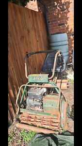 ATCO Royale B24E 5HP. Great cylinder mower.