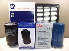 JHF HYUNDAI SANTA FE SUV CM TURBO DIESEL FILTER PACK (OIL + AIR + FUEL FILTER)