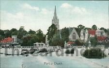 MARLOW Church Postcard nr High Wycombe BUCKINGHAMSHIRE