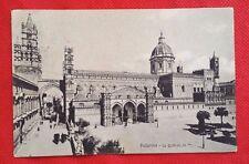 Cartolina PALERMO (Sicilia) La Cattedrale Anni '10 (viaggiata)      06/17