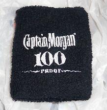 Captain Morgan Rum Bartender Wrist Band...Black...NEW