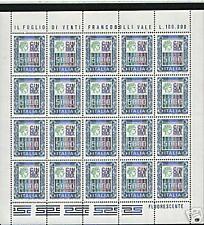 1978 MINIFOGLIO ALTI VALORI DA £ 5.000