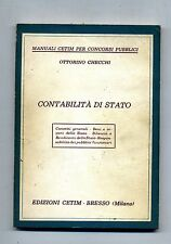 Ottorino Cecchi # CONTABILITÀ DI STATO # Edizioni Cetim 1964