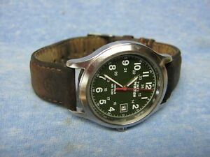 "Men's TIMEX ""Expedition"" Military Watch w/ Backlight & New Battery"