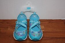 NEW Girls The Childrens Place Blue Sneakers Shoes Size 3