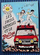 Les Pieds Nickelés et le rallye T3 couverture souple EO 1983