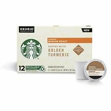 Starbucks 72 K Cups with Golden Turmeric for Keurig Brewers Best Before 10/2020