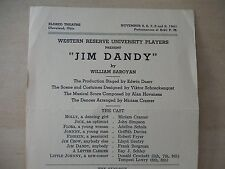 November 1941 - Eldred Theatre Playbill - Jim Dandy - Miriam Cramer