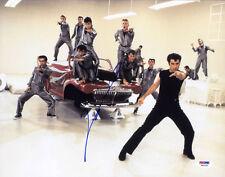 John Travolta SIGNED 11x14 Photo Danny Zuko Grease Lightning PSA/DNA AUTOGRAPHED