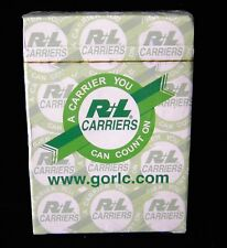 Full Deck of R+L Carriers Playing Cards BRAND NEW!  R L R&L truck trucking
