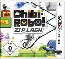 Chibi-Robo: Zip Lash (Nintendo 3DS, 2015, Keep Case)