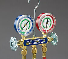 """Yellow Jacket 41211 R404A/22 Manifold with 60"""" PLUS II Hose"""