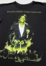 WIZ KHALIFA rolling papers 2011 tour SMALL concert T-SHIRT