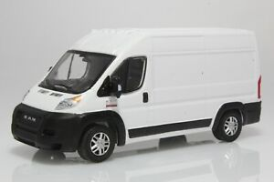 2019 RAM Promaster High Roof Delivery/ Work Van 1:64 Scale Diecast Model Truck