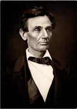 Abraham Lincoln Springfield IL 1860 Postcard unused Modern