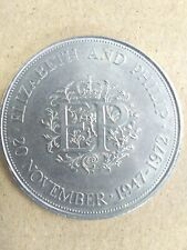 1947-1972 20 November Queen Elizabeth And Philip Commemorative Coin Collectable