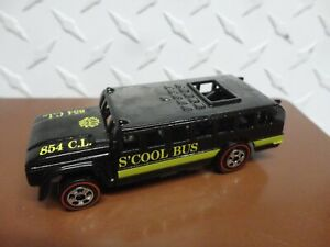 Loose Hot Wheels Black S'Cool Bus from Top 40 Set