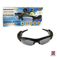 Sunglasses Camera Ski Sports Hidden Action Sound Video Recorder Spy Glasses UK