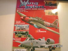 ** Wing Masters n°3 Ilyouchine Il-2m3 Stormovik A-10A Thunderbolt II