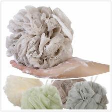 Large Exfoliating Body Scrubber Sponge Flower Brush Puff Bath Mesh Ball Shower