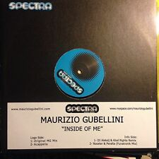 MAURIZIO GUBELLINI • Insidie Of Me • Vinile 12 Mix • SPC 056