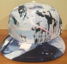New Star Wars All Over Empire Strikes Back New Era 59Fifty Fitted Hat SZ 7 3/8