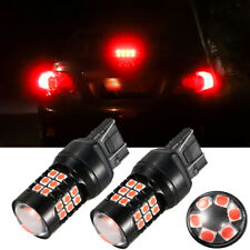 FOR Honda Civic Accord Red Strobe Flashing Brake Tail Light Blinking Lamp