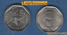 V République 1959 - / 2 Francs 1997 Georges Guynemer SUP SPL de rouleau Commémor