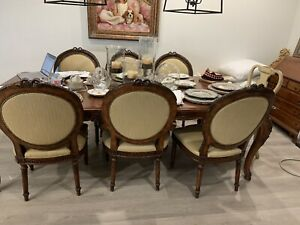 Henredon Dining 6 chairs (2 armchairs + 4 chairs)