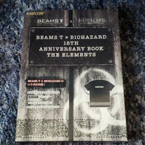 NEW BIOHAZARD X BEAMS T 15TH ANNIVERSARY RESIDENT EVIL CAPCOM JAPAN