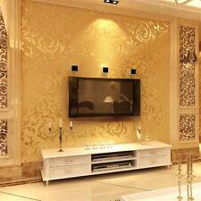 Vliestapete Barock Ornament Luxus Tapete Geprägte Für Schlafzimmer Wohnzimmer HT