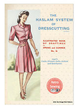 The Haslam System of Dresscutting No. 16 1940's  - Copy