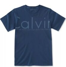 Calvin Klein Jeans Boys Graphic-Print Dark Blue  T-Shirt Size10/12 NWT