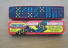 Vintage Spear's Games COLOUR DOMINOES